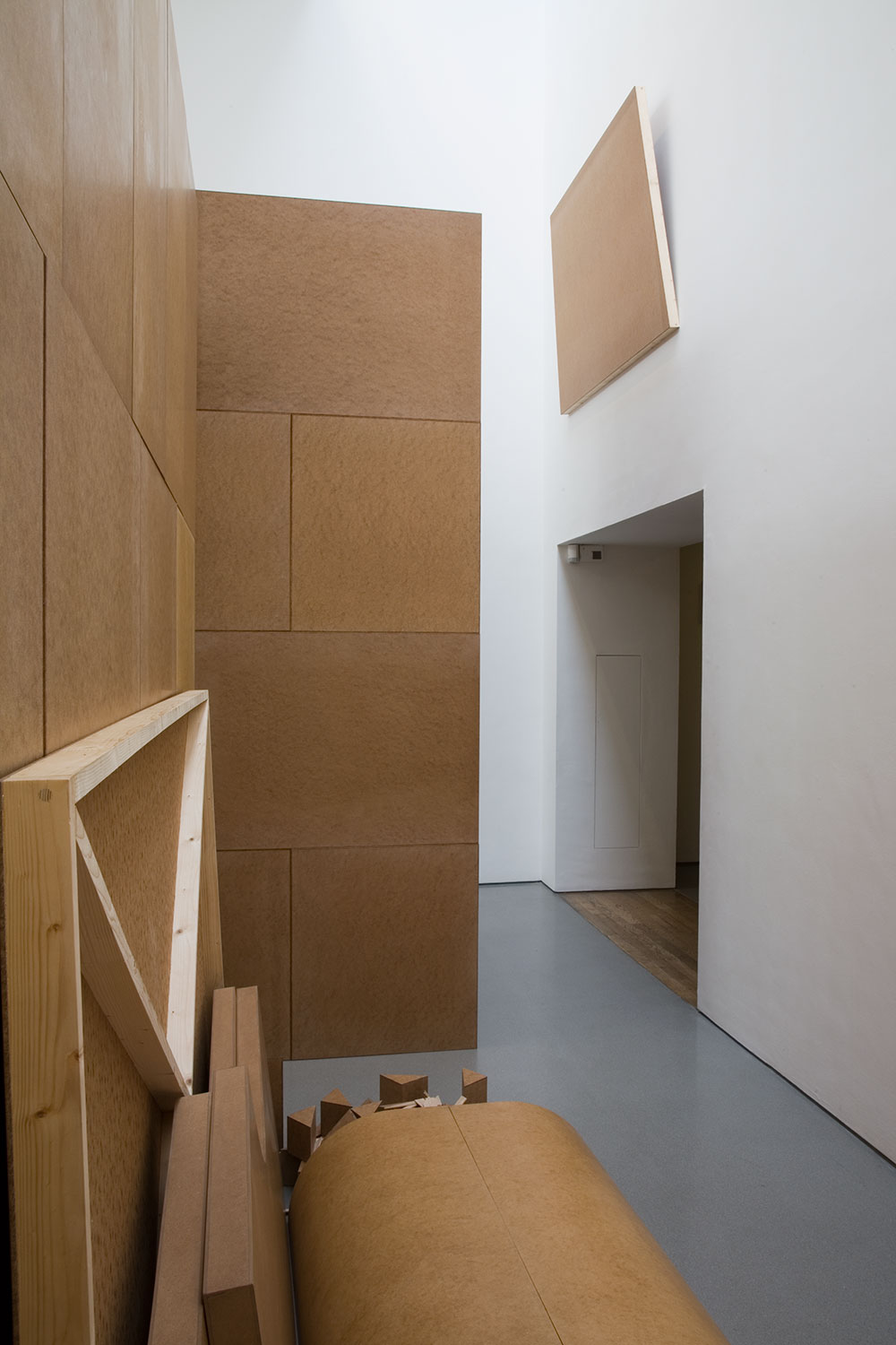 Installation view of Imi Knoebel: Primary Structures 1966/2006 2