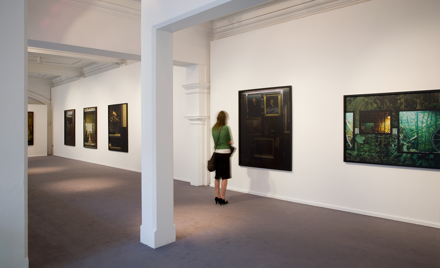 Installation view of Leeds (Partial View) 4