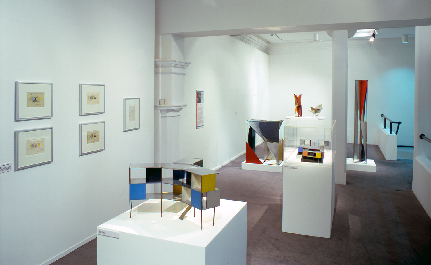 Installation view of Shaping Modern Sculpture 1