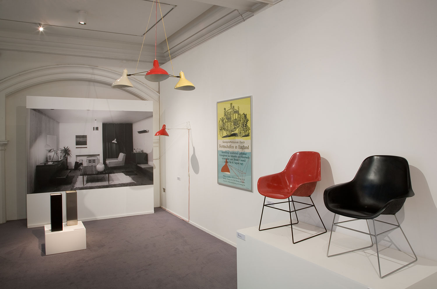 Installation view of Indoors and Out 3