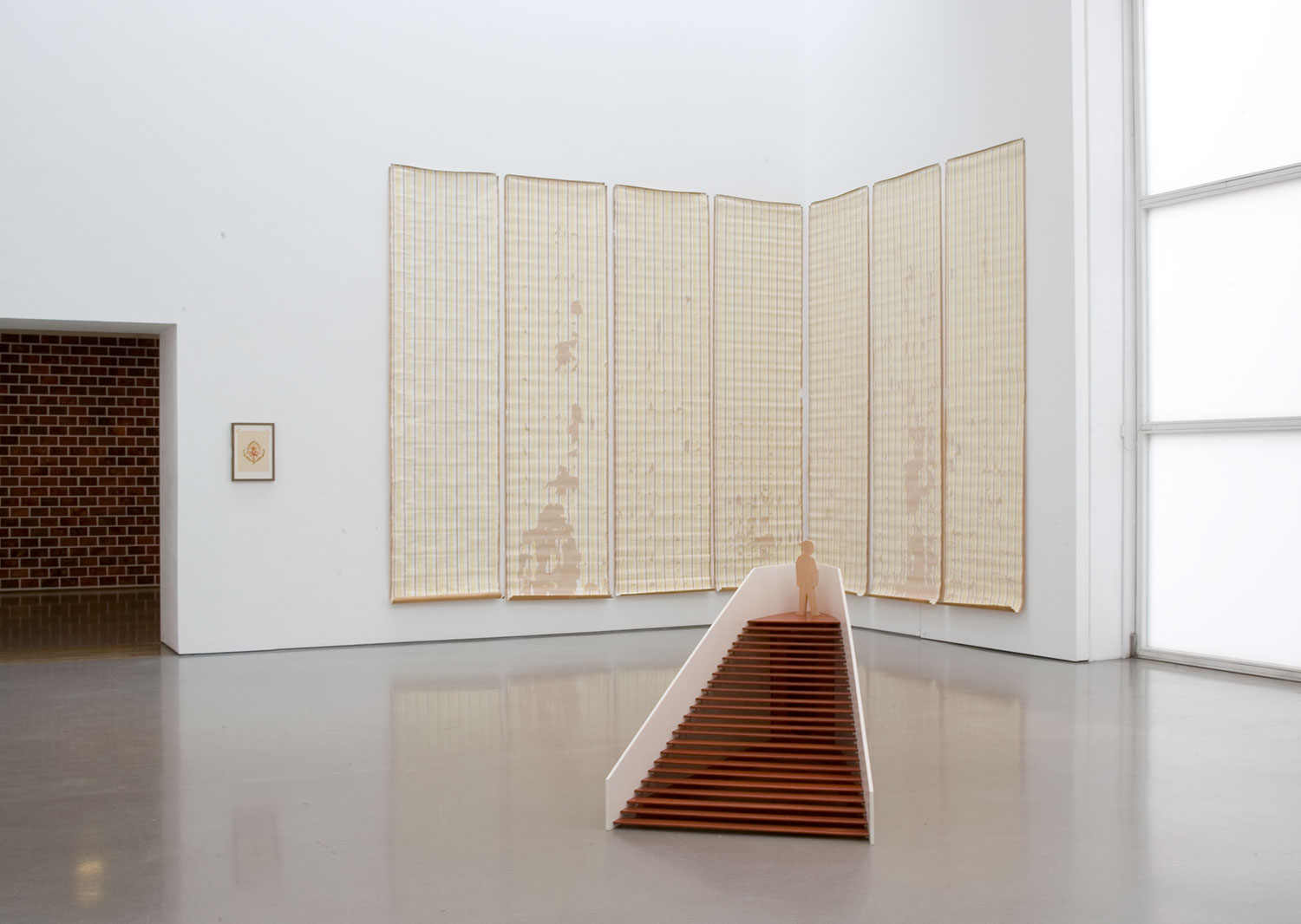 Installation view of Thomas Schutte: Fake/Function 9