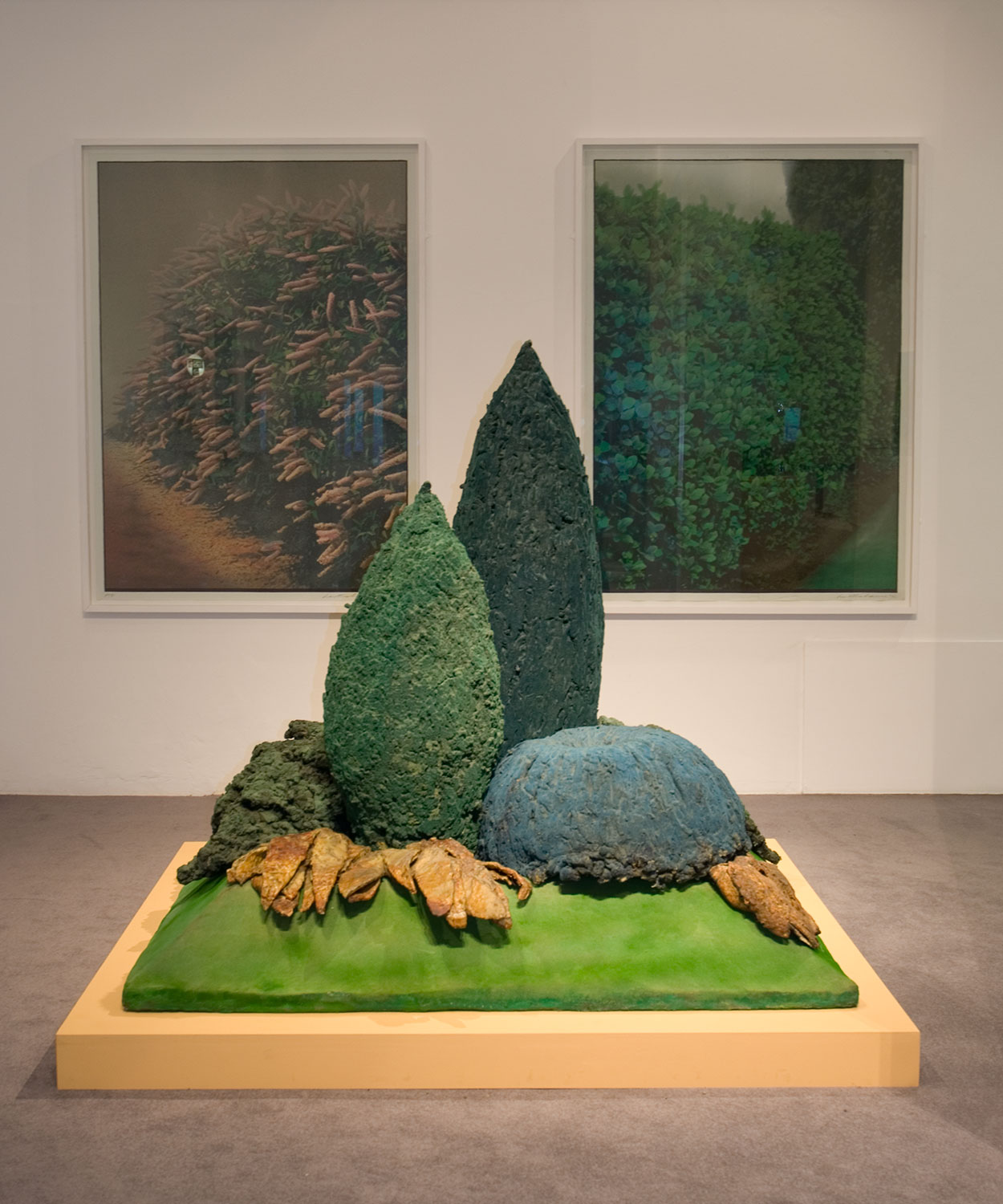 Installation view of By Leafy Ways: Early works by Ivor Abrahams 6