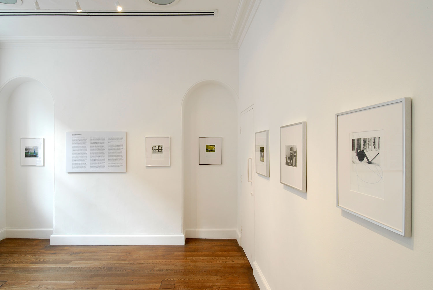 Installation view of Unfinished Business: Mark Wilsher 2