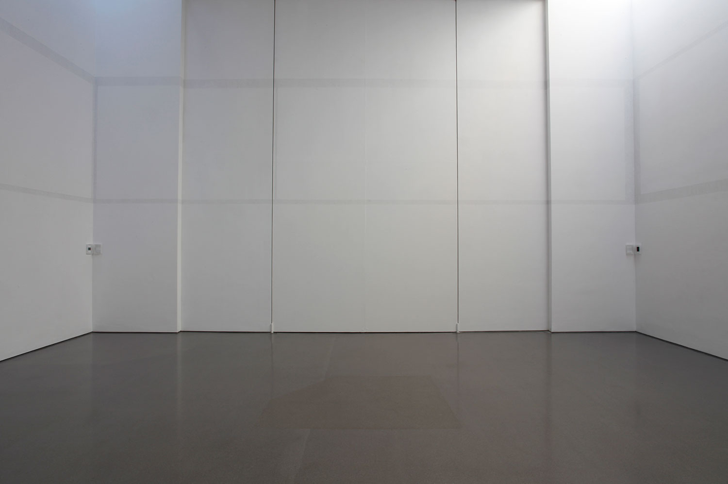 Installation view of Alan Johnston: Drawing a Shadow: No Object (8)