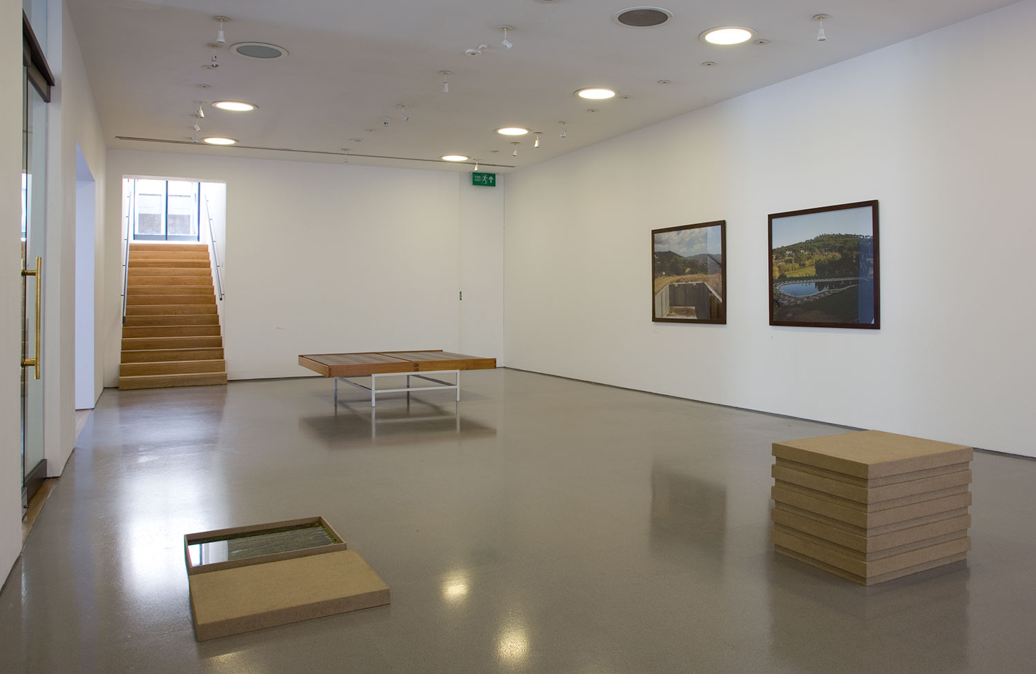 Installation view of Jean-Marc Bustamante: Dead Calm 3