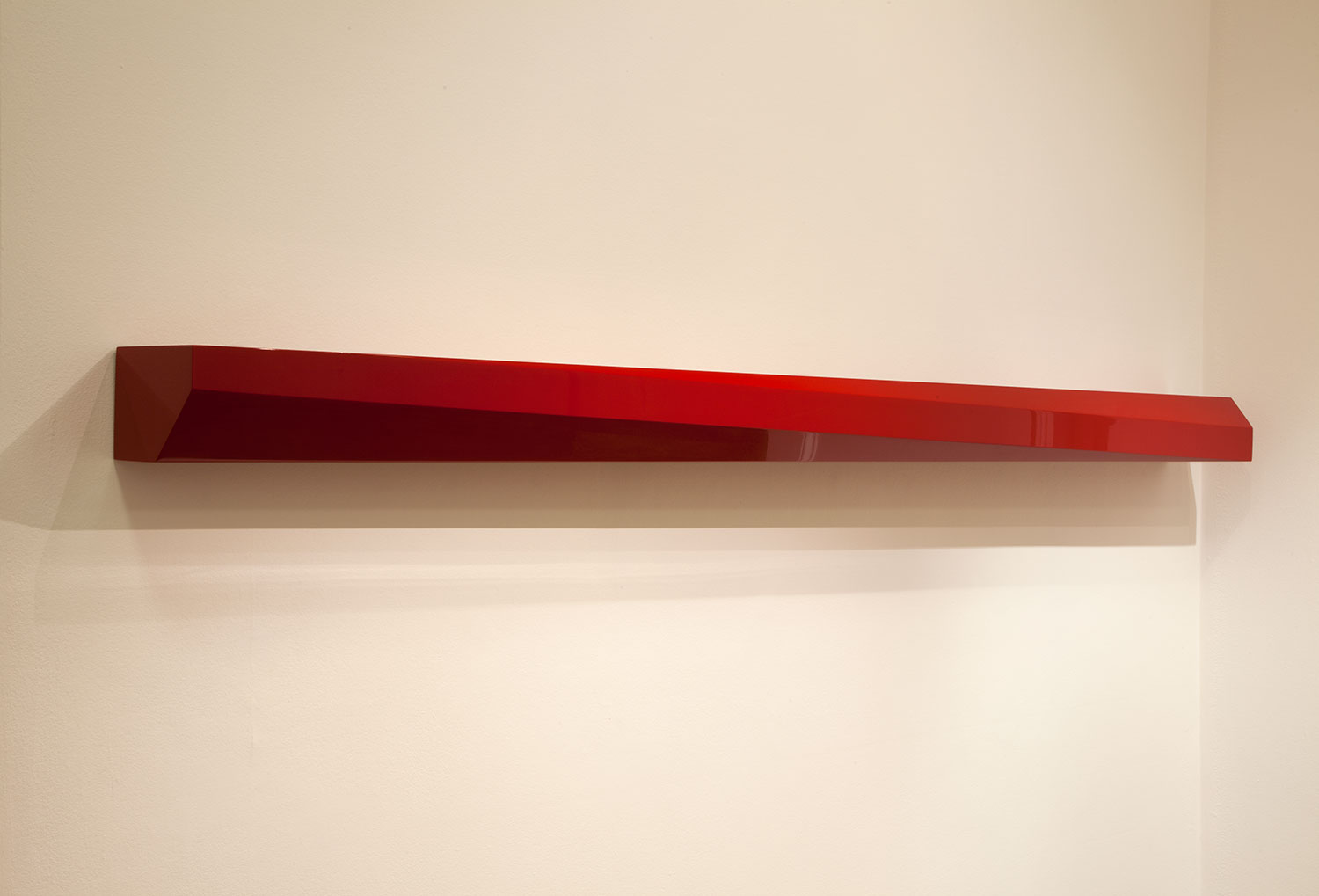 John McCracken, 'Neon' (1989, polyester resin, fibreglass and wood) 1