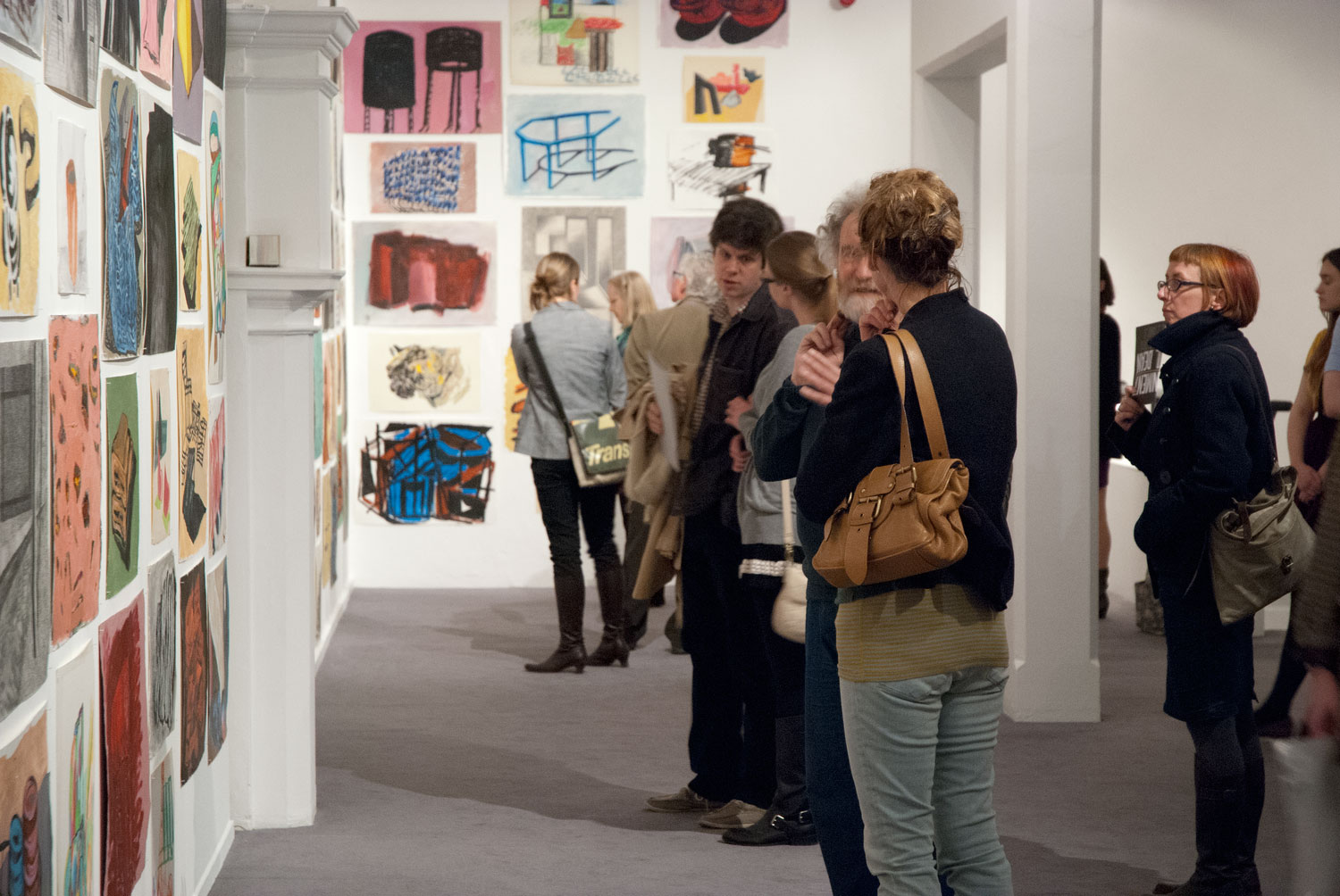 Installation view of Phyllida Barlow: Bad Copies (4)
