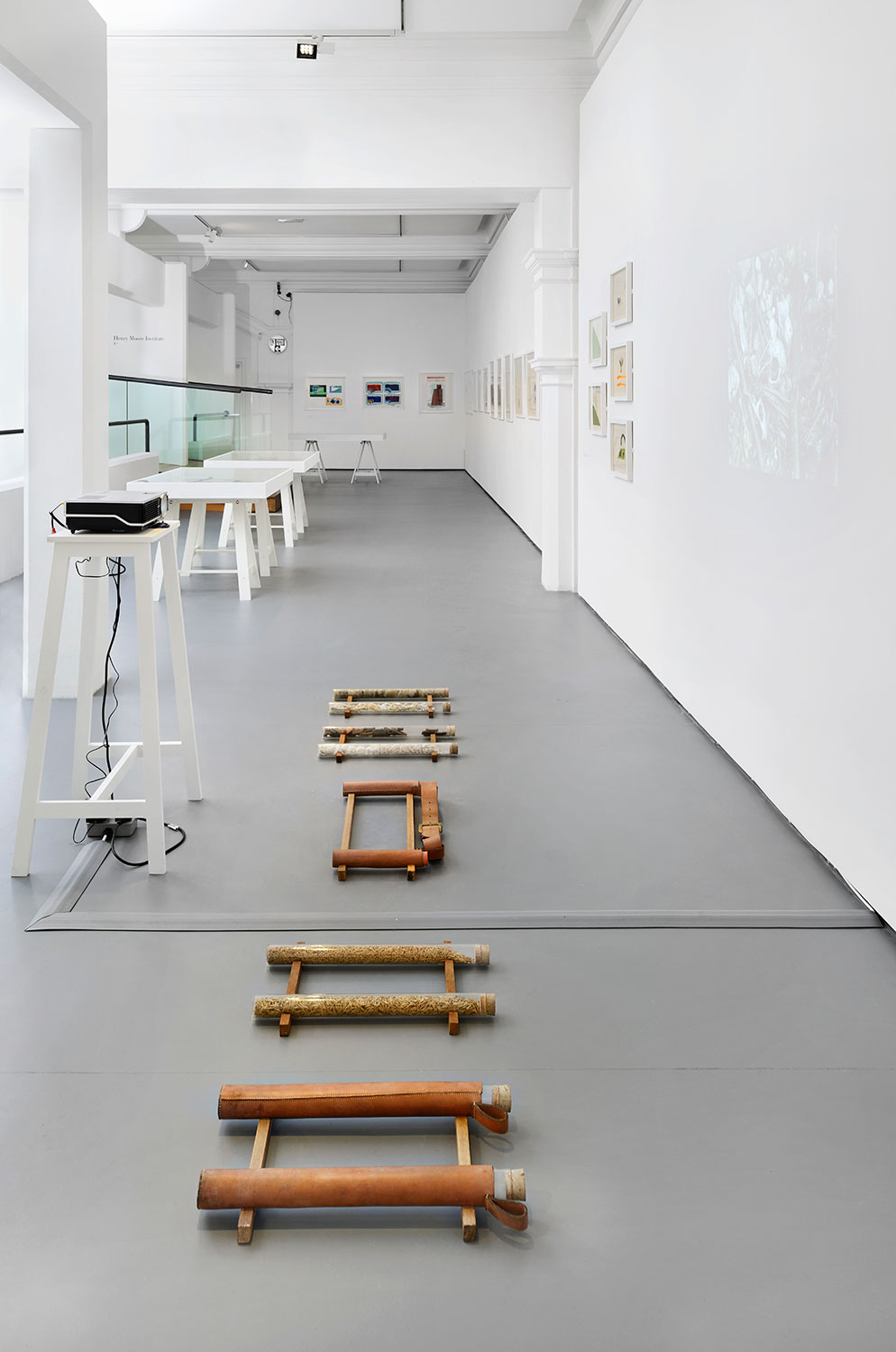 Installation view of Keir Smith: From Wall to Floor 5
