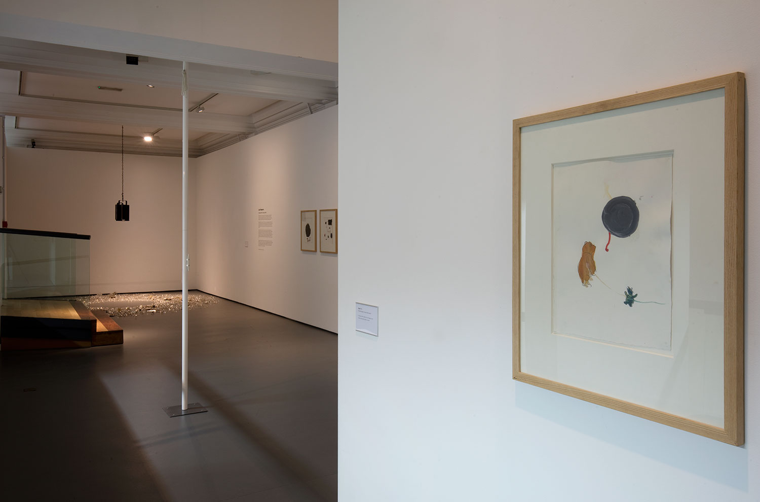 Installation view of Lucia Nogueira 10