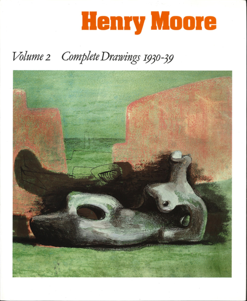 Cover from 'Henry Moore: Complete Drawings Vol.2'