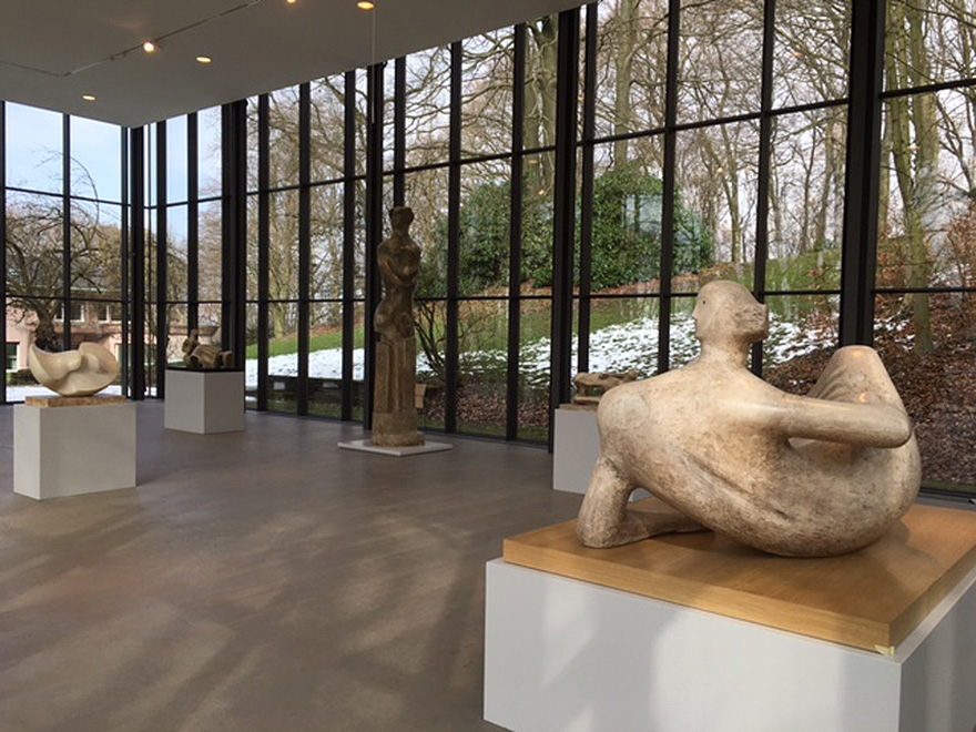 Henry Moore: Plasters in the gallery
