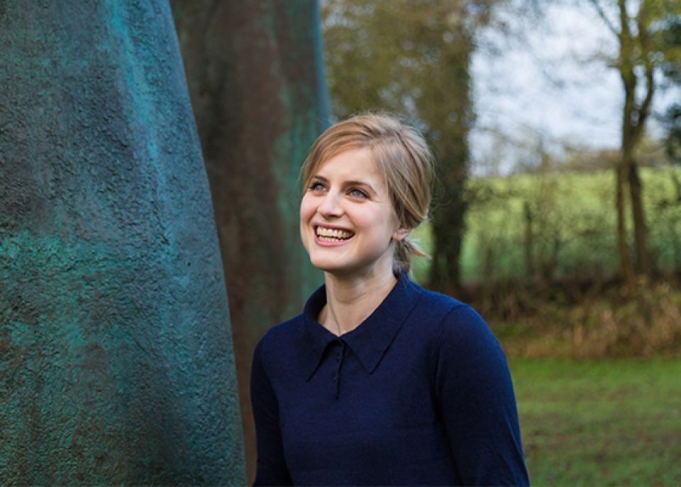 Photo of Sylvia Cox, Assistant Curator, Henry Moore Foundation