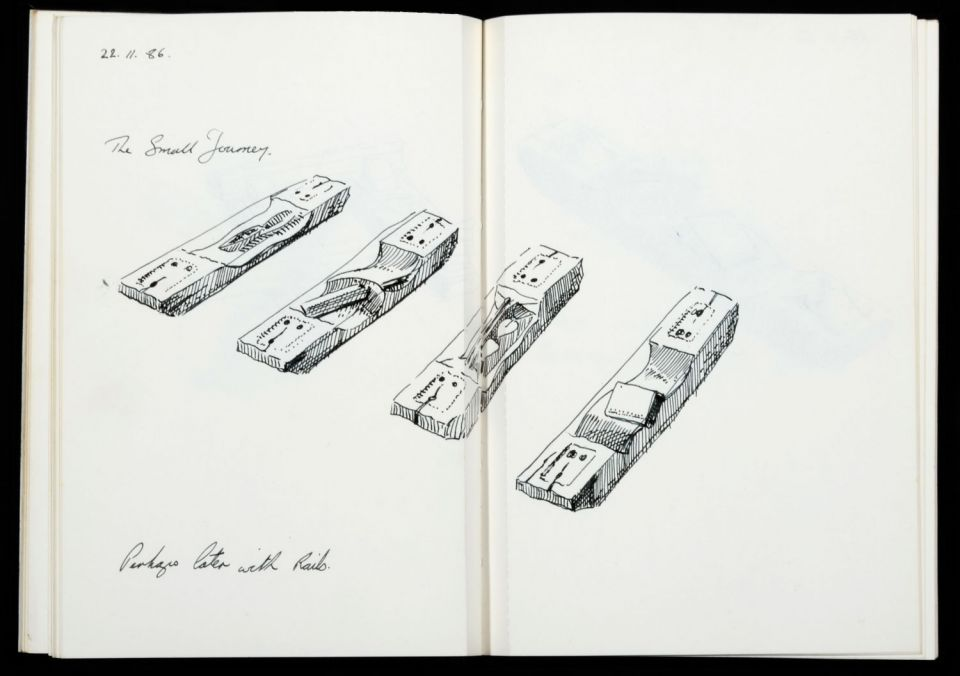 Keir Smith, sketchbook (c.1986-1987) Archive reference: 2012.27/A/64