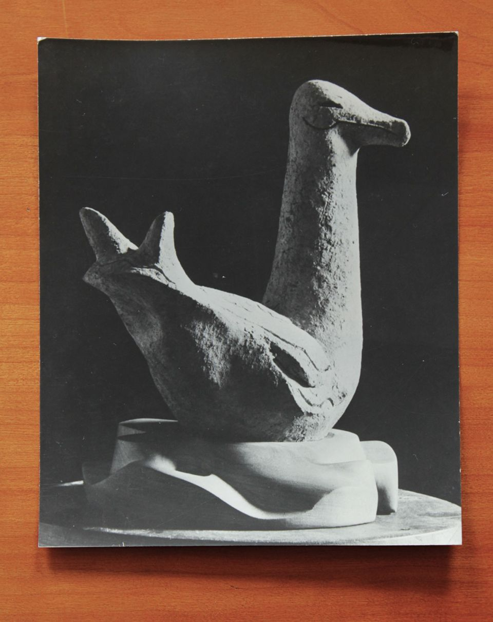 Gertrude Hermes, vintage photograph of 'Seagull' (1936)