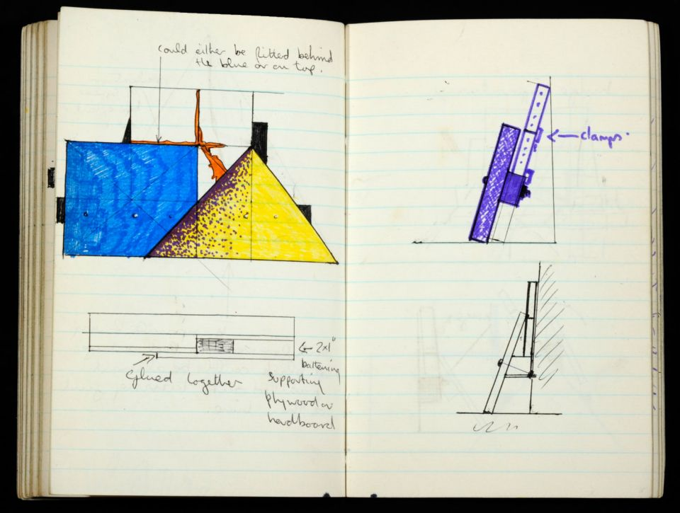 Keir Smith, sketchbook (1972)