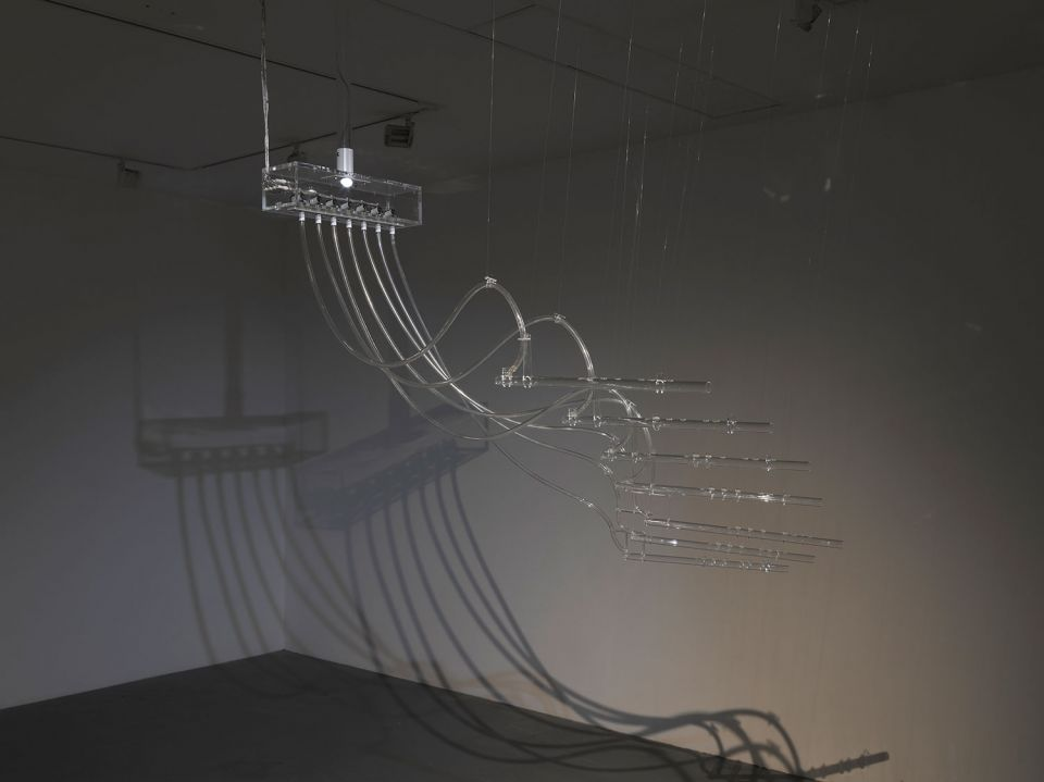 Cerith Wyn Evans, Interlude (A=D=R=I=F=T), 2011/2014, mixed media