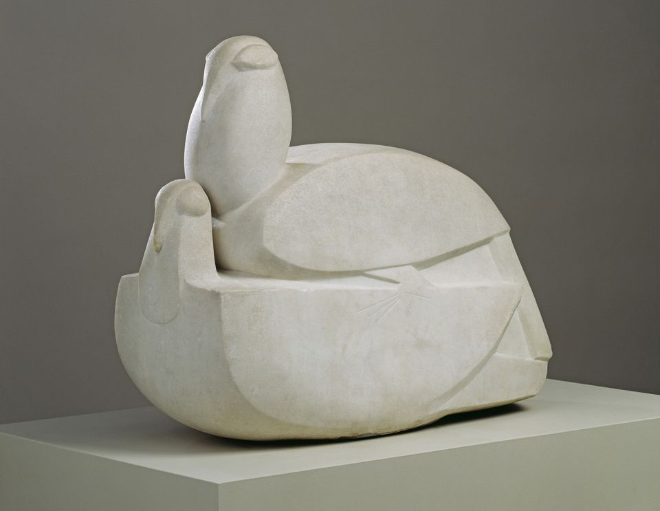 Doves (third version) 1914-15, Sir Jacob Epstein 1880-1959