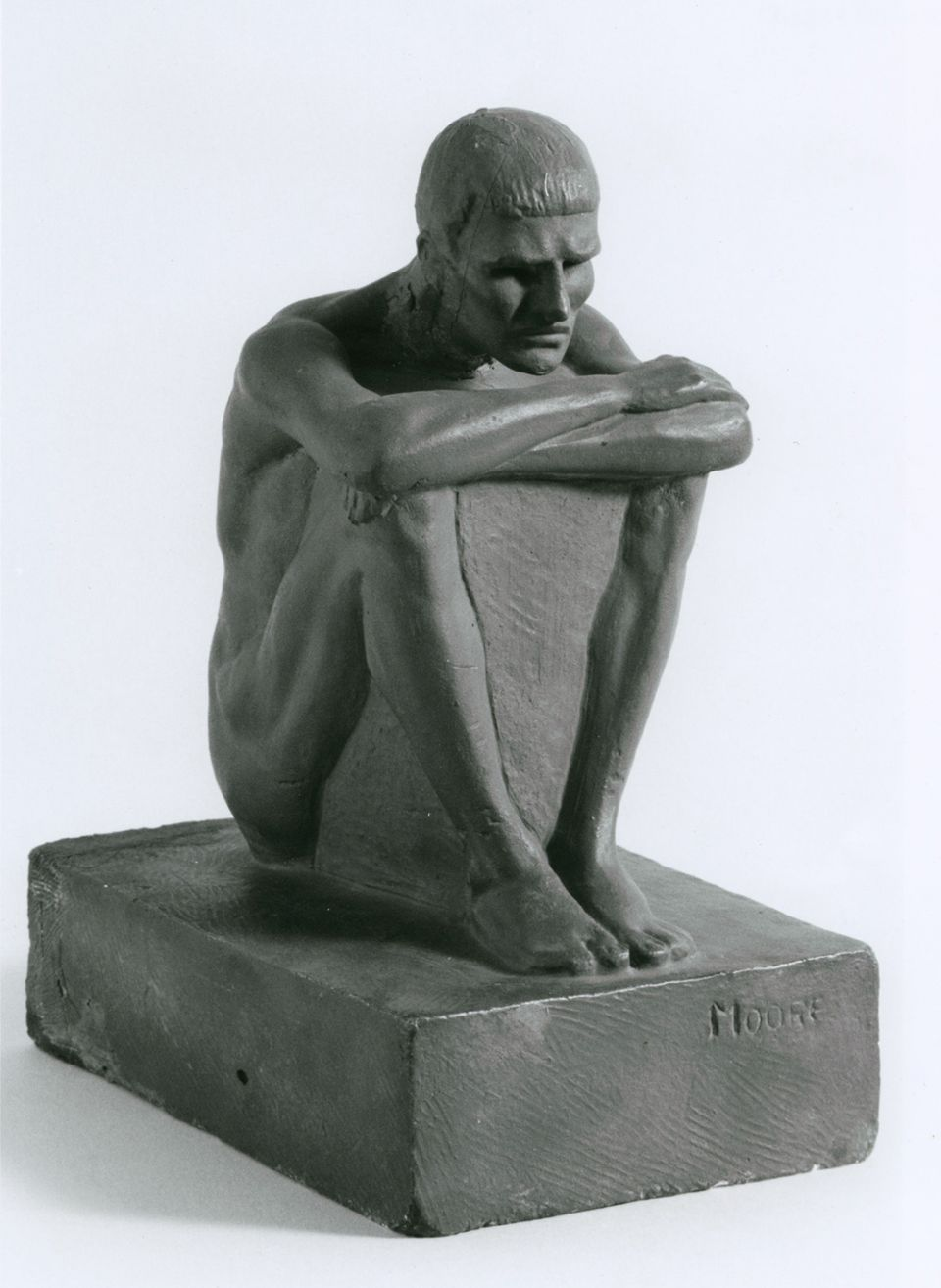 Henry Moore Seated Man c.1921 (LH X21)