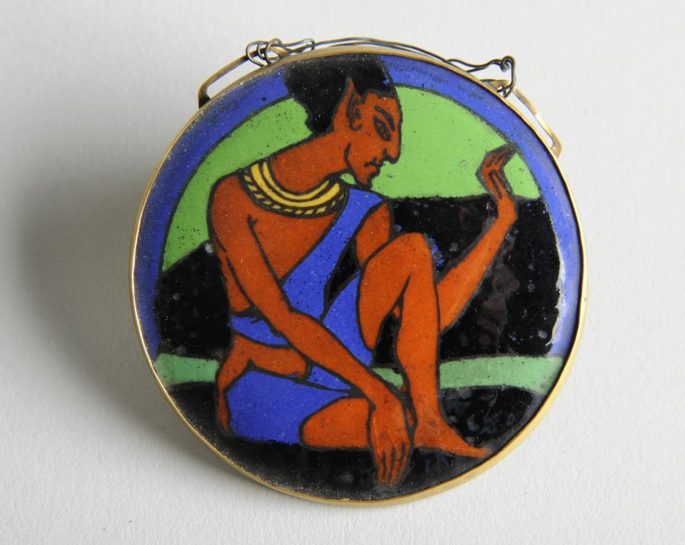 Henry Moore Pendant in the Egyptian Style