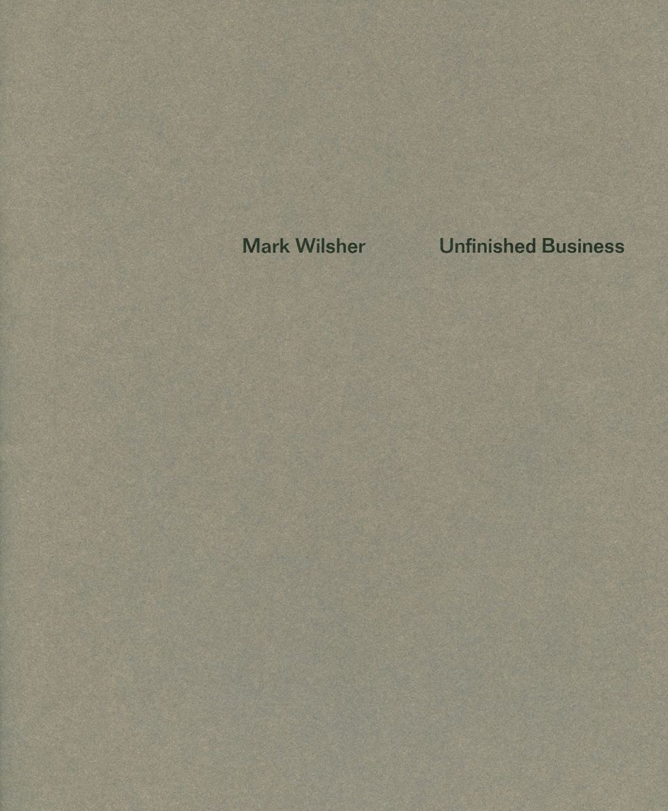 Mark Wilsher catalogue