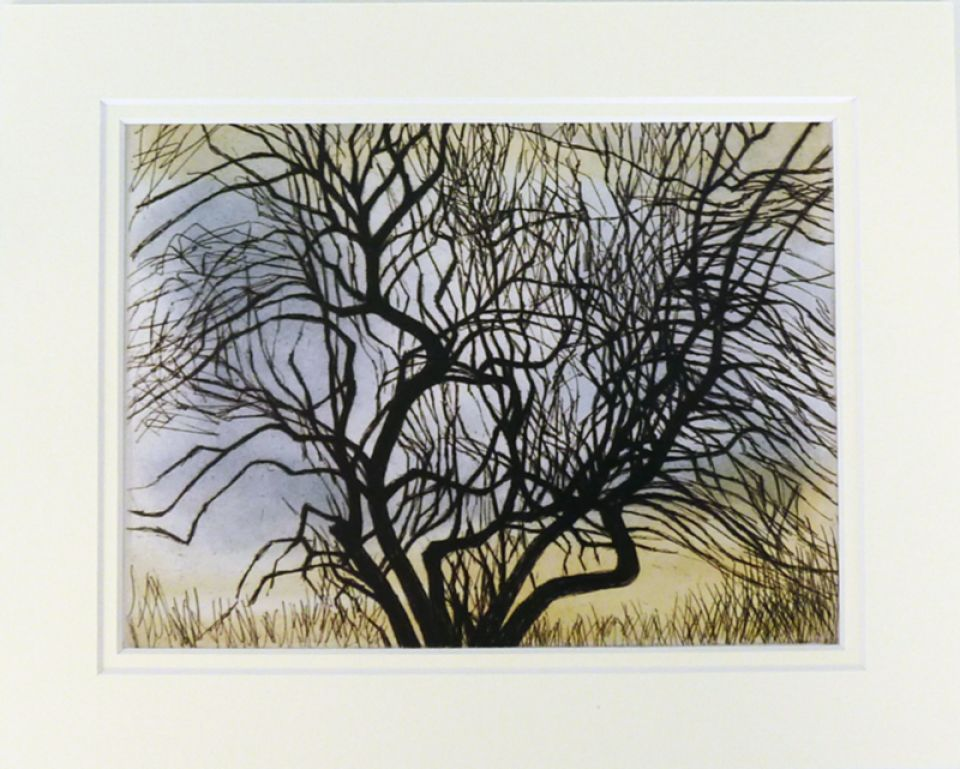 'Trees V: Spreading Branches' reproduction print