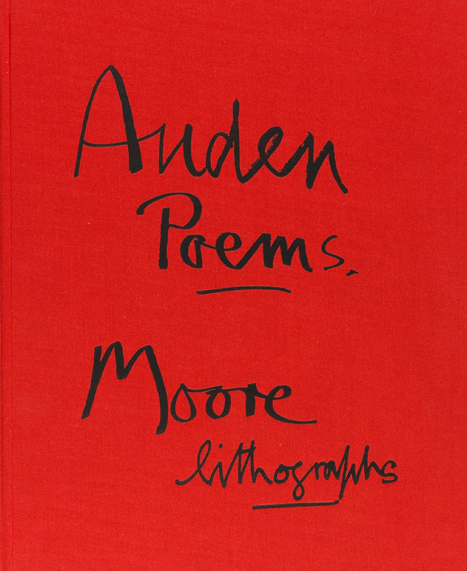 Auden Poems Moore Lithographs Limited Edition Graphics