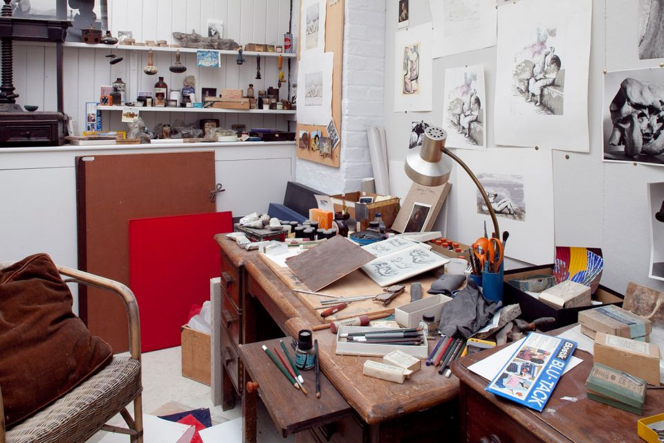 The Etching Studio at Hoglands