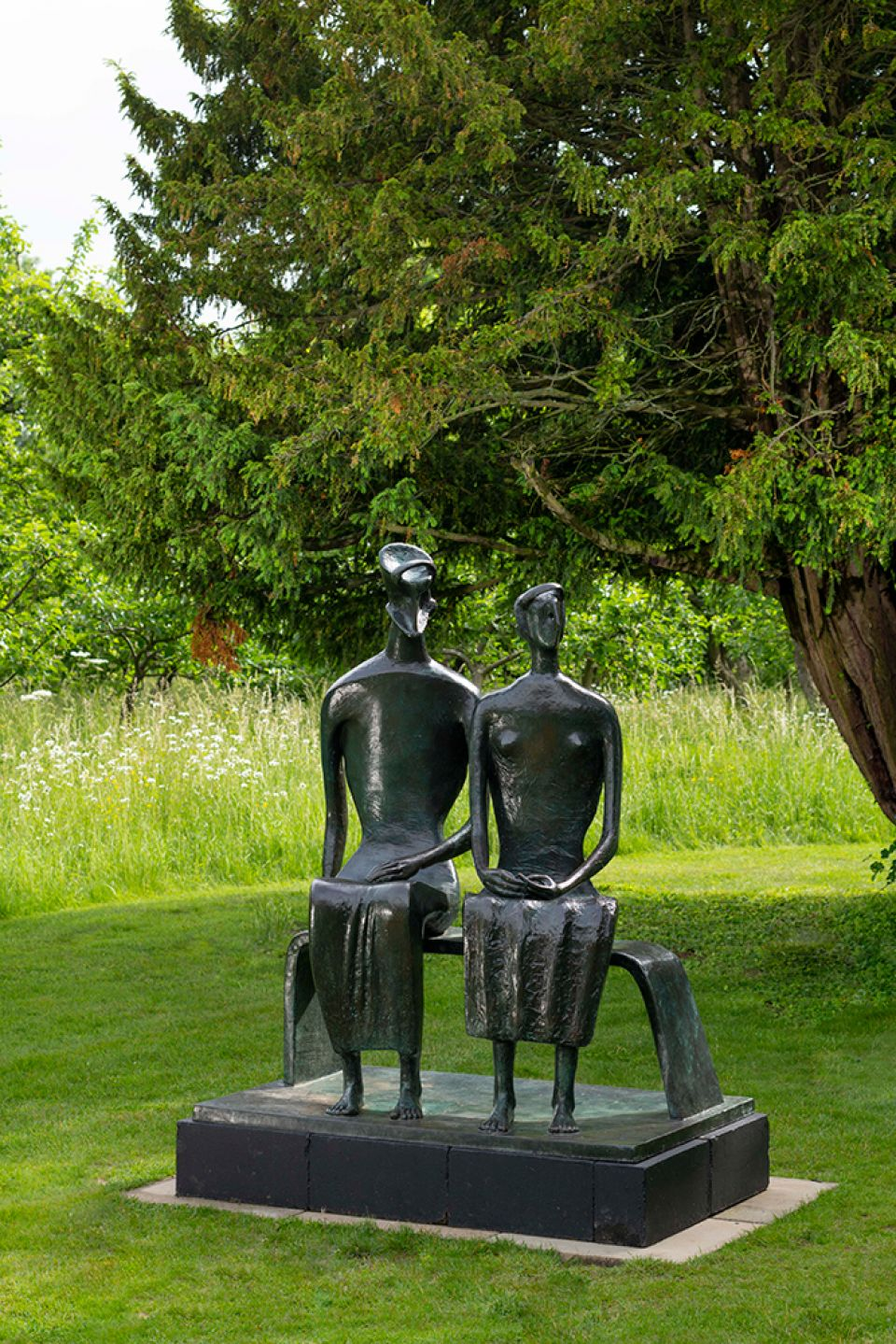 Henry Moore, 'King and Queen' 1952-53
