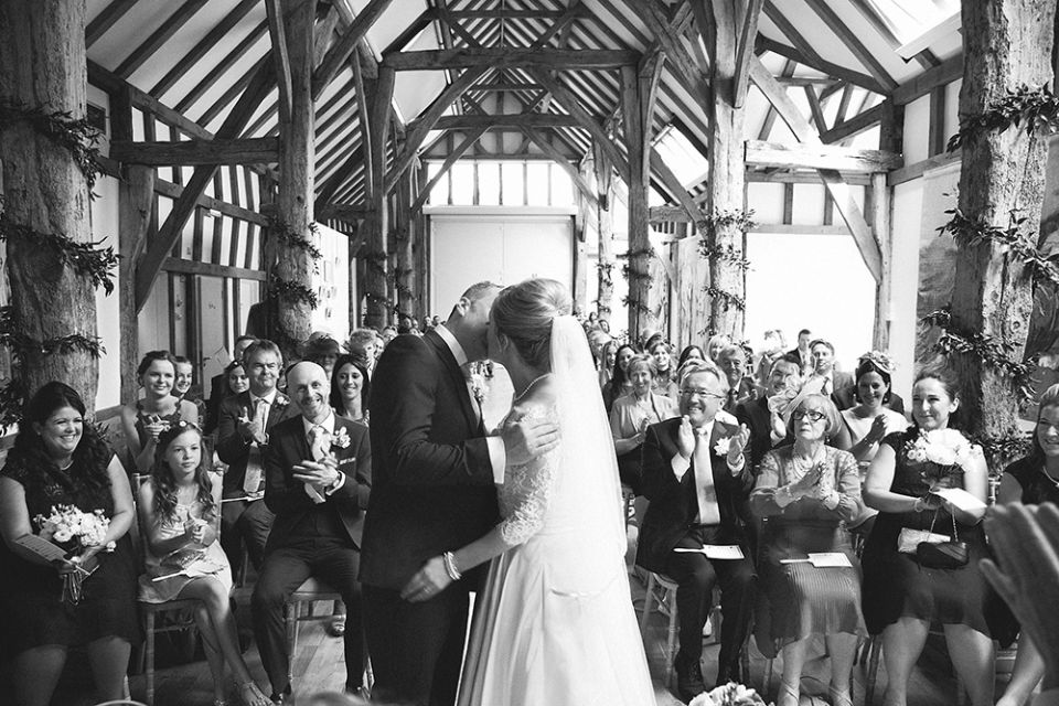 Ceremony in the Aisled Barn