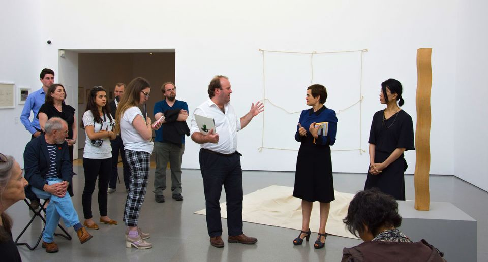Jon Wood, Lisa Le Feuvre and Yumiko Chiba discuss Jiro Takamatsu: The Temperature of Sculpture