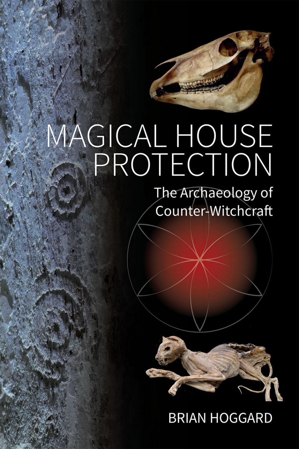 Cover image of Brian Hoggard's forthcoming book, Magical House Protection