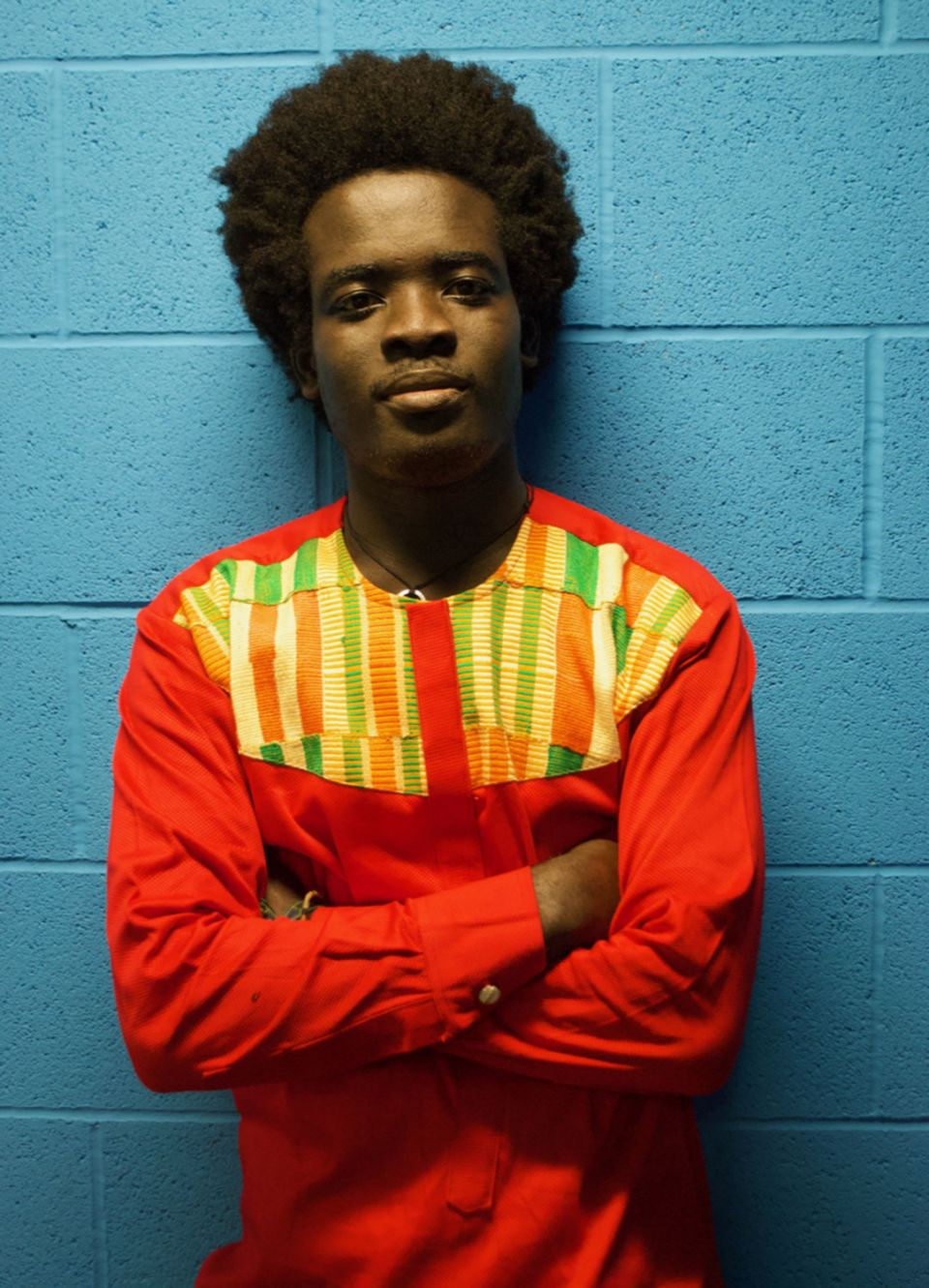 Nii Kwartey Owoo, Director of Miishe African Music and Dance, Leeds