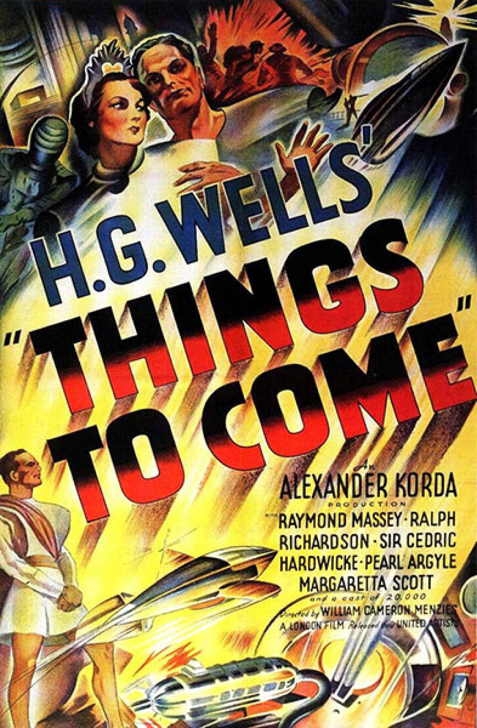 1936 poster for 'Things to Come'