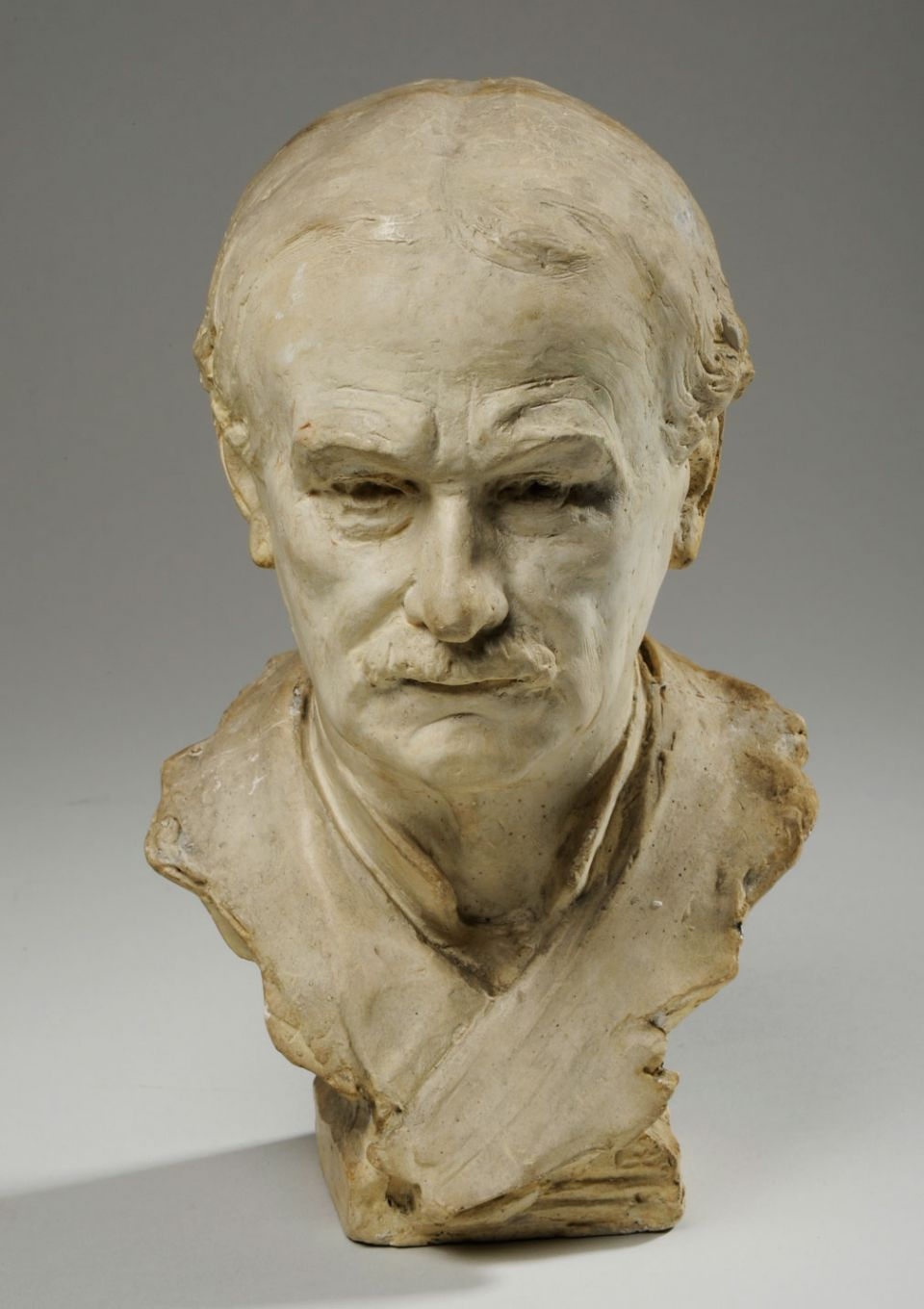 William Hamo Thornycroft, 'Self-Portrait Bust' (1923)