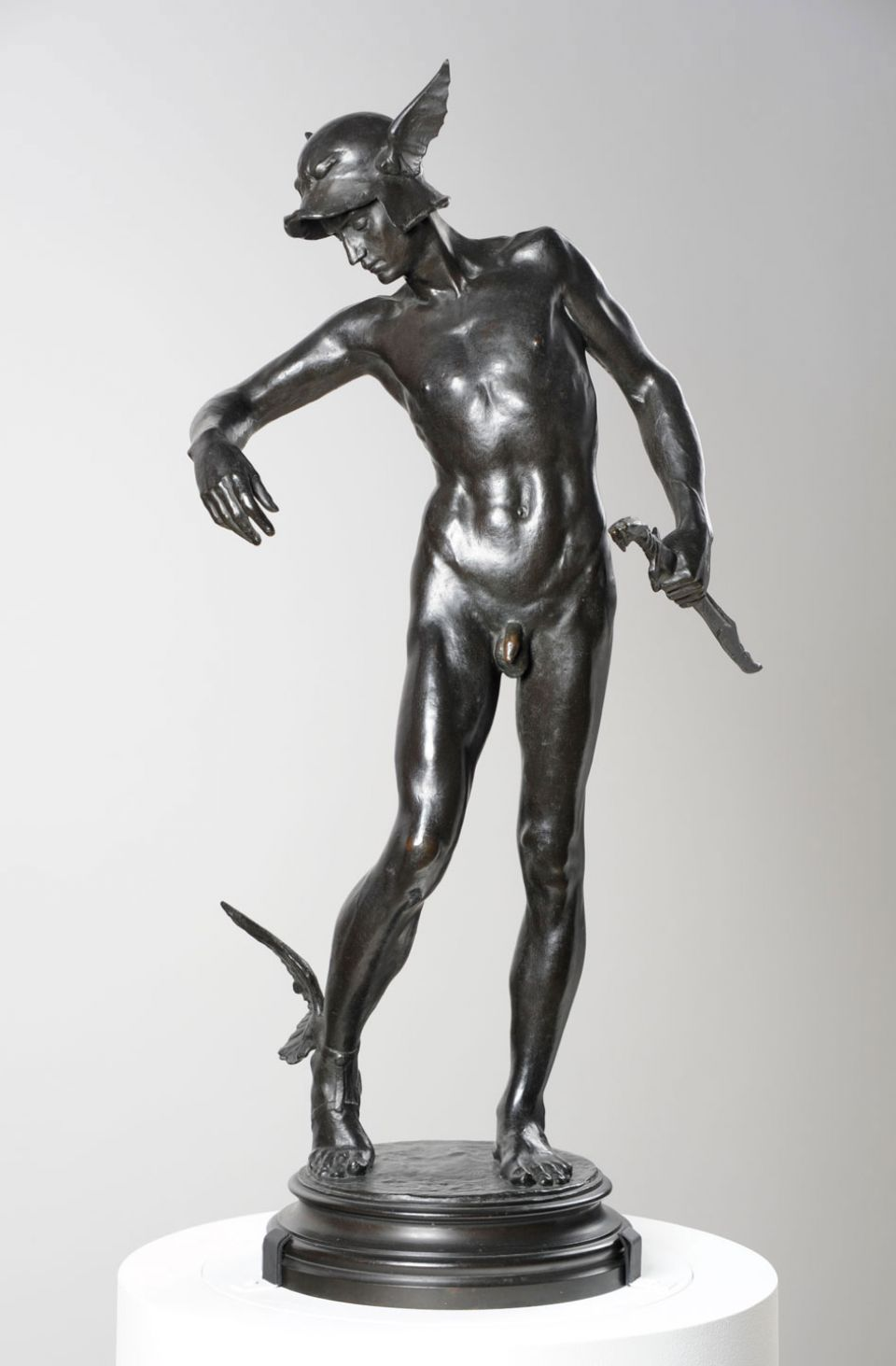 Alfred Gilbert, 'Perseus Arming' (1882 (cast 1910), bronze)