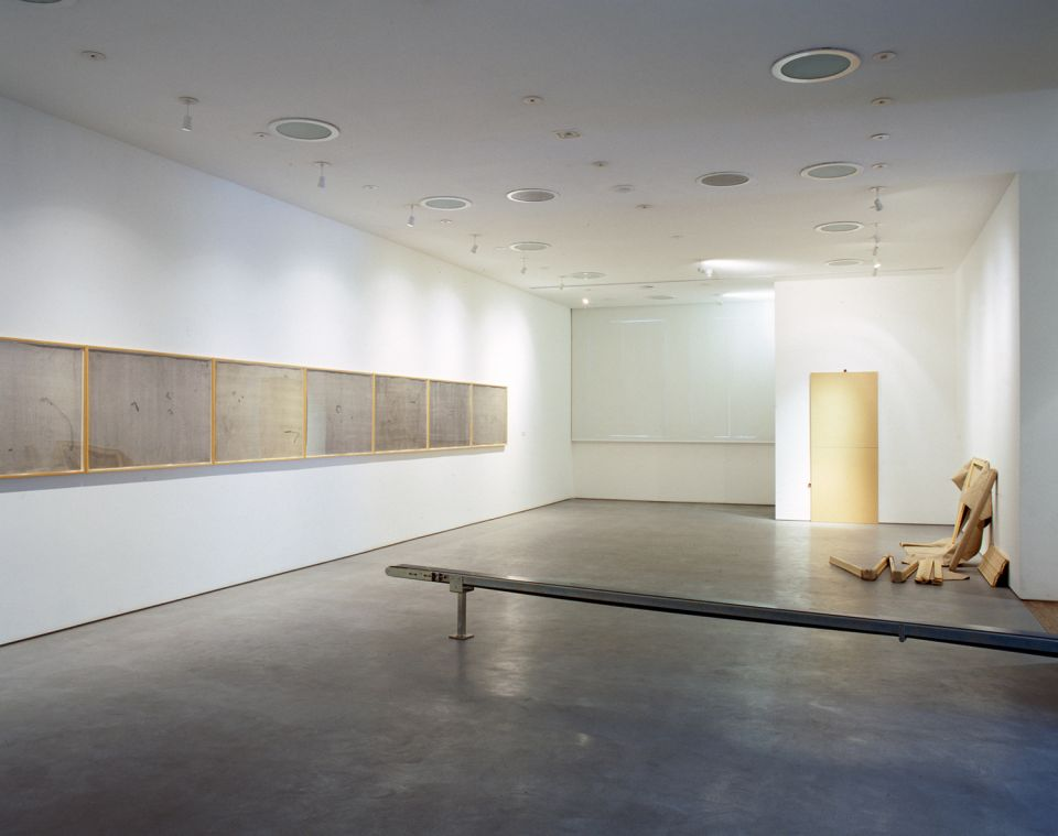 Installation view of Serge Spitzer: Index - 1972-92 5