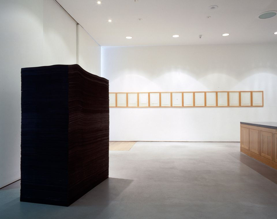 Installation view of Serge Spitzer: Index - 1972-92 6