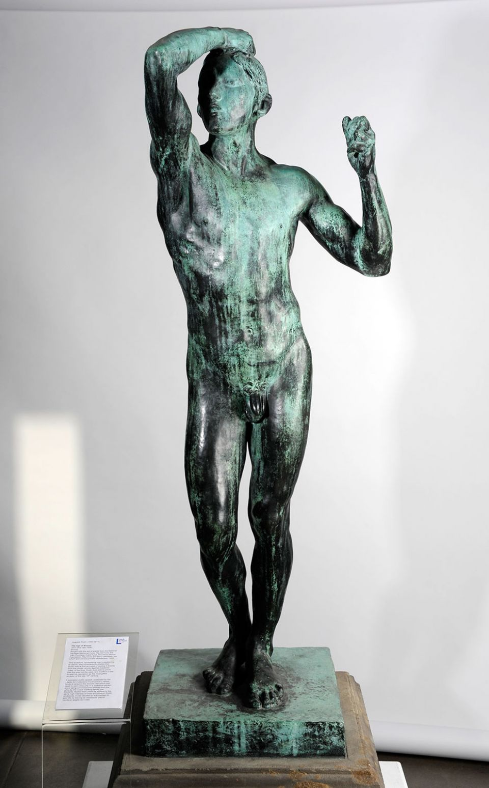 August Rodin, 'Age of Bronze' (1877 (cast 1906), bronze)