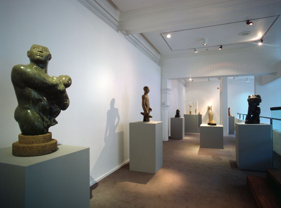 Installation view of Shine: sculpture and surface in the 1920s and 30s 2