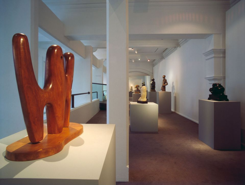 Installation view of Shine: sculpture and surface in the 1920s and 30s 1