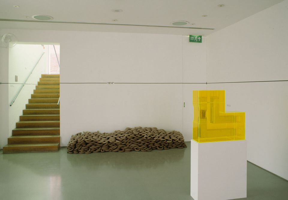 Installation view of The Object Sculpture 1