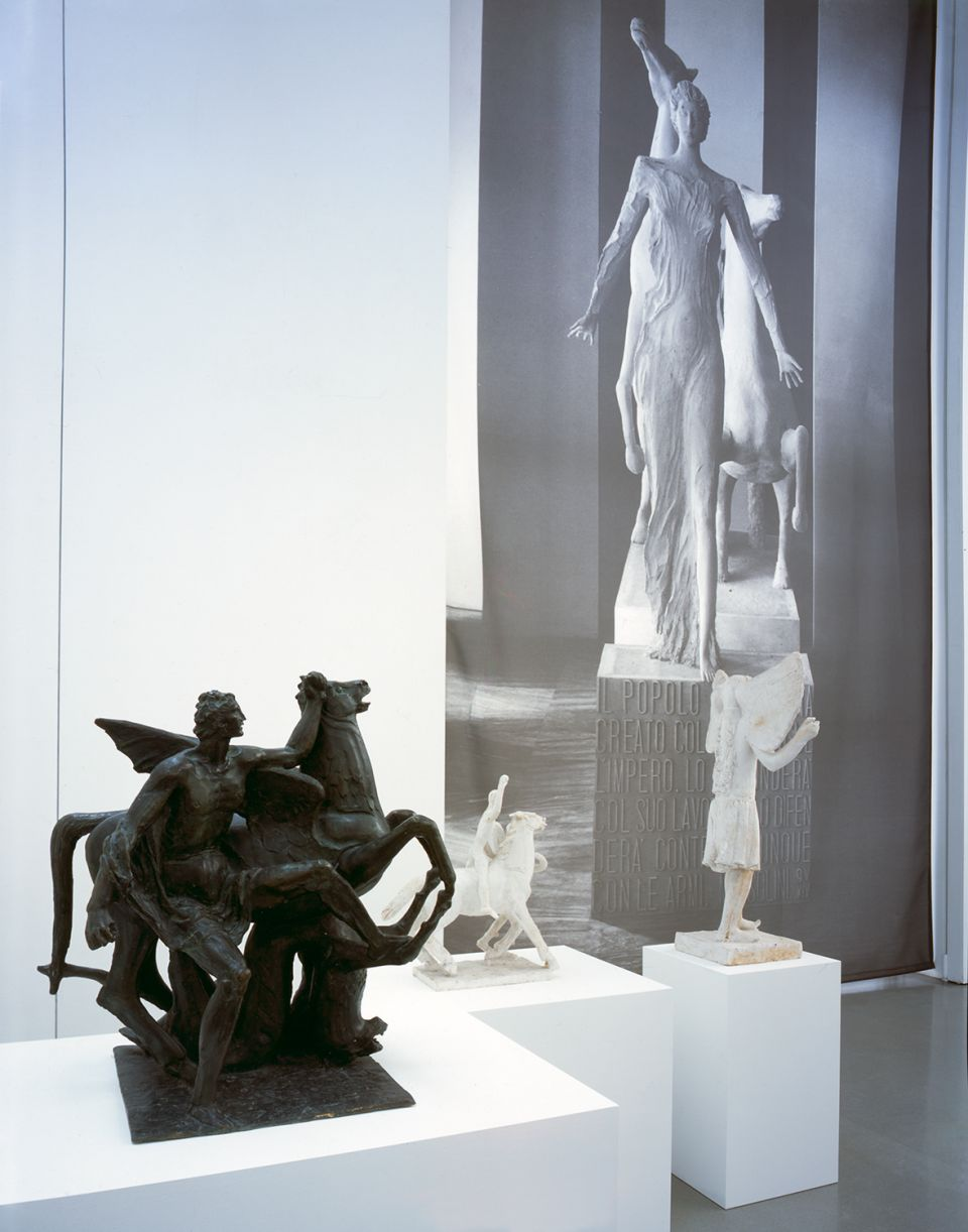 Installation view of Scultura Lingua Morta: Sculpture From Fascist Italy 3