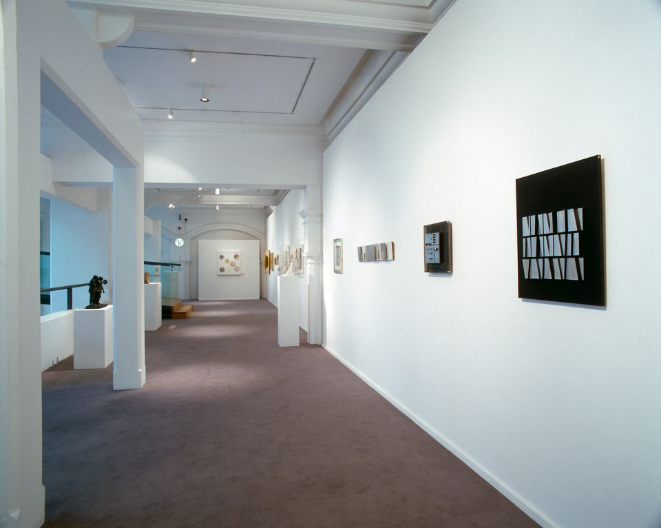 Installation view of Shallow Space 3