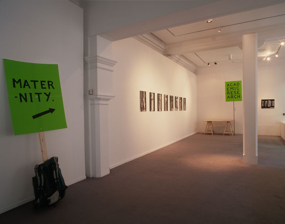 Installation view of The Third Campaign: A Project by Neal White 2