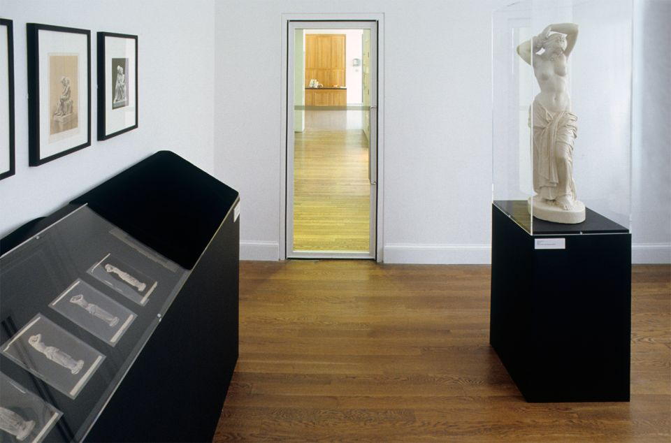 Installation view of Thomas Woolner: Seeing Sculpture Through Photography 2