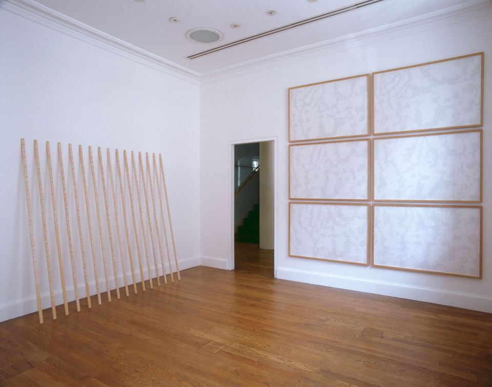Installation view of Charlotte von Poehl: The Notepiece 1