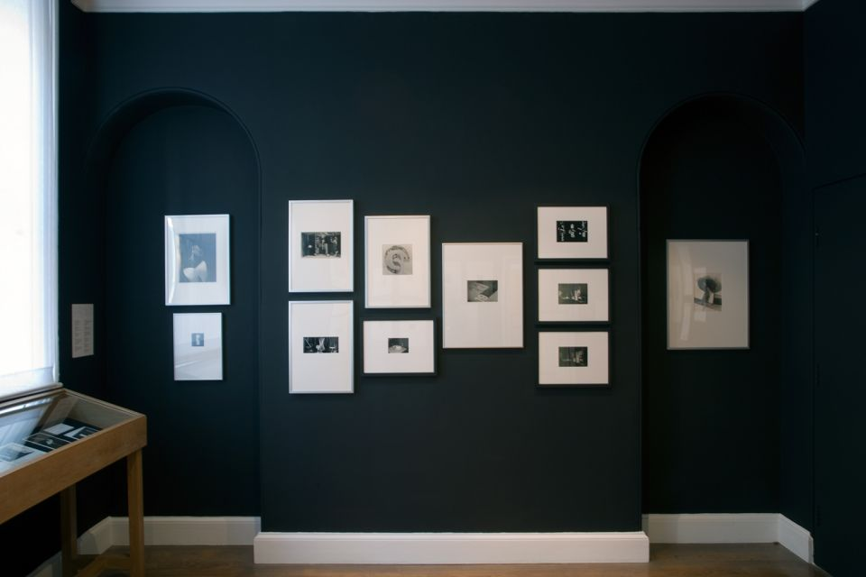 Installation view of Experimental Photography from the Bauhaus Sculpture Workshop 3
