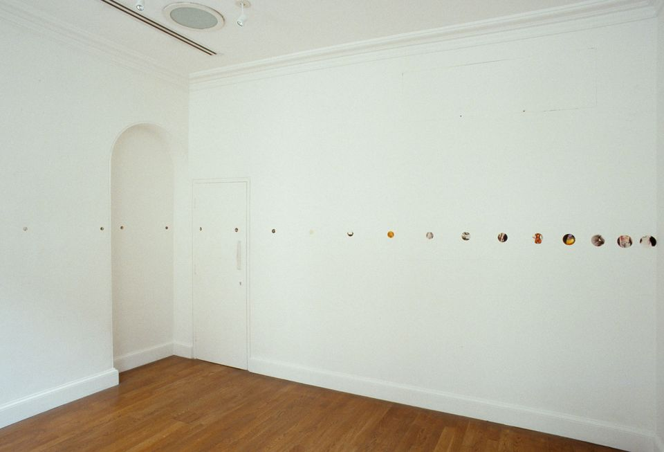 Installation view of Giorgio Sadotti: From Navels to Nipples Henry Moore 1