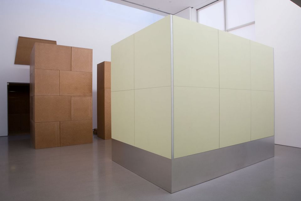 Installation view of Imi Knoebel: Primary Structures 1966/2006 1