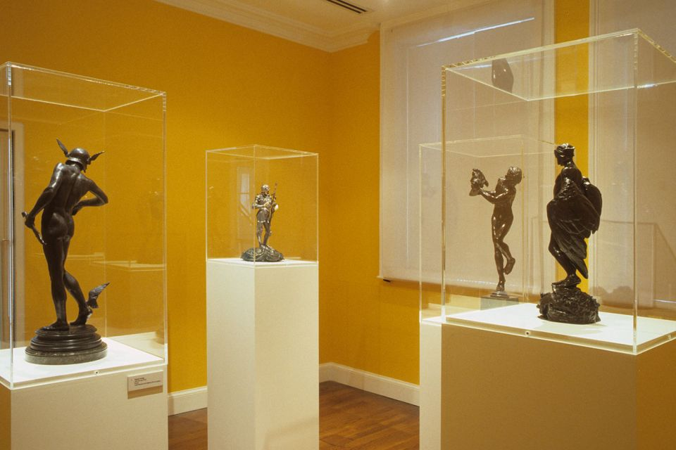 Installation view of The New Man: Alfred Gilbert's Heroic Nudes 1882-1895 2